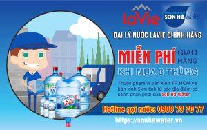 Đại lý nước khoáng LaVie Sơn Hà Water