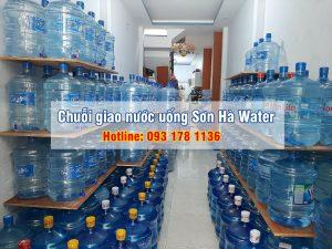 chuỗi giao nước uống tận nhà Sơn Hà Water