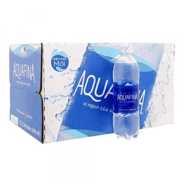 Thùng nước Aquafina 500ml
