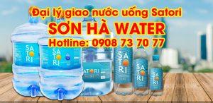 Đại lý nước uống Satori Sơn Hà Water