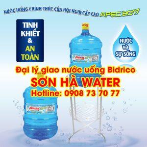 Đại lý nước uống Bidrico Sơn Hà Water